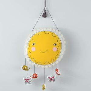 Smiling Sun Happy Bright Modern Nursery Decor